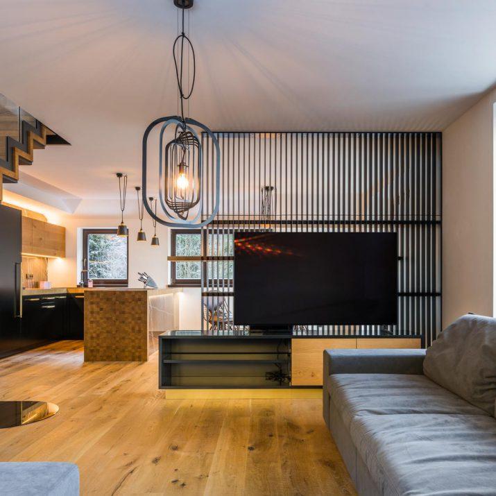 Apartmán Špindlerův Mlýn – Obývací prostor