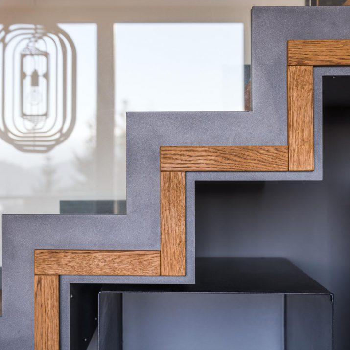 Apartmán Špindlerův Mlýn – Detail schodiště